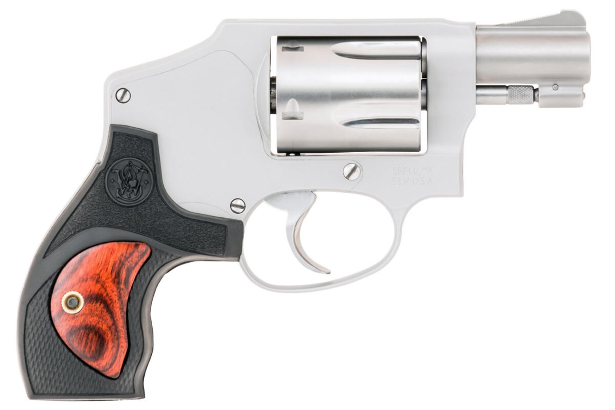 with Synthetic/Wood Grips