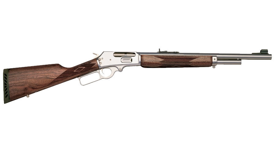 Action Rifle with Stainless