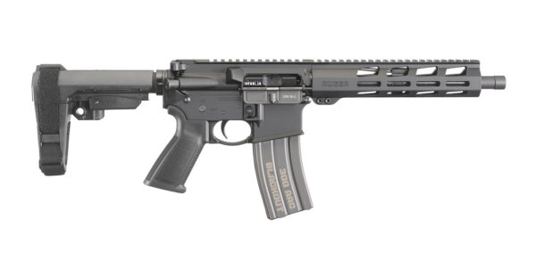 Pistol with SB Tactical