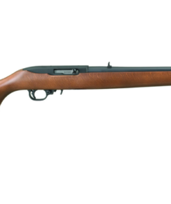 Rifle with Hardwood Stock